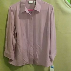 Covington pink blouse
